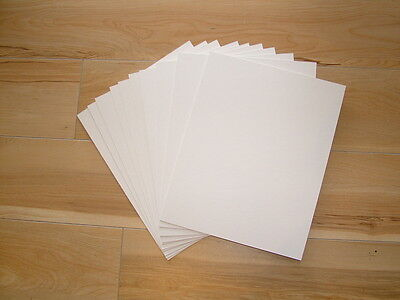 Picture Framing Mat Board Backing 15 x A4  & 15 x A5 with Cello Bags