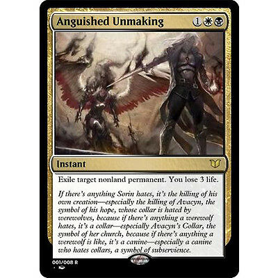 MTG Anguished Unmaking x 4 Shadows over Innistrad NM/M