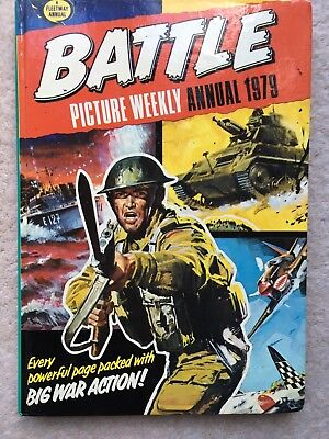 Battle Picture Weekly Annual - Excellent Condition - 1979