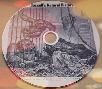 Cassell's natural history old books scanned to Pdf, Kindle & Epub format on Disc