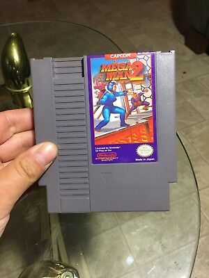 Mega Man 2 Cart Only Nintendo Entertainment System Nes Lot Games