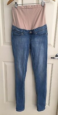 Light Soft Blue Maternity Skinny Jeans From Jeanswest Size 6