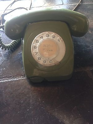Late 70's Rotary Dial Telephone