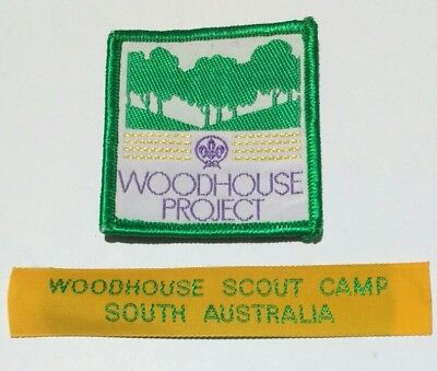 2 Woodhouse Scout Camp badges