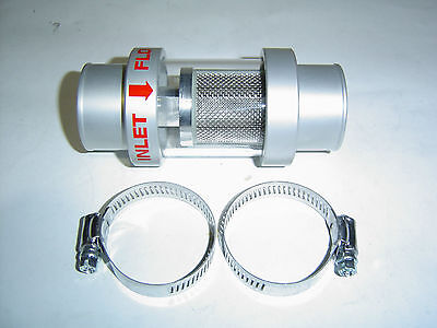 Radiator Coolant Filter Alloy See Thru Glass 32mm Hose Size sent Registered Post