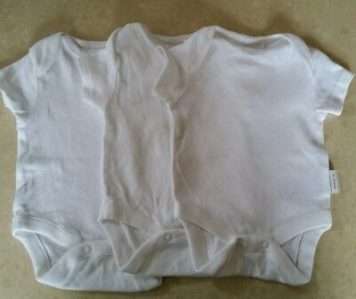 NEXT Baby short sleeve bodysuit size 0000 undershirt singlet unisex boy girl new