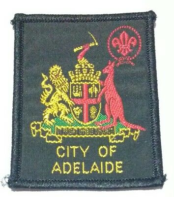 City of Adelaide Scout badge