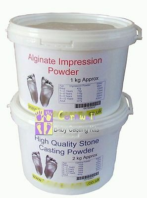 X/Large 3D Baby Casting Bucket Kit for Hands or Feet