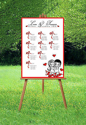 TABLEAU MATRIMONIO POSTER LOVE IS AMORE è DECORAZIONI SPOSI CUORE NOZZE MARIAGE