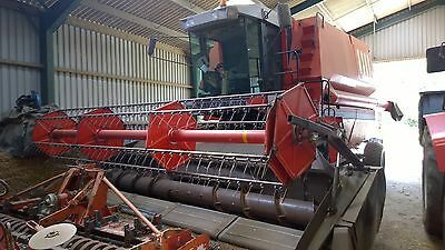 Massey Ferguson MF38 Combine Harvester, 18ft Powerflow cutterbar, Good condition