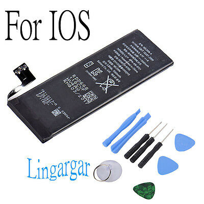 LOT OEM for iPhone 4/5/6 Li-ion Internal Replacement Battery+Suction Tools