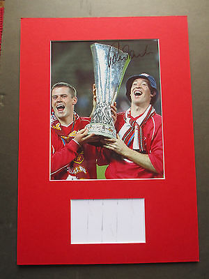 Liverpool Robbie Fowler Authentic Genuine Signed A3 Mounted Photo Display - Coa