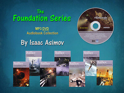 The Complete FOUNDATION Series By Isaac Asimov (7 MP3 Audiobooks)