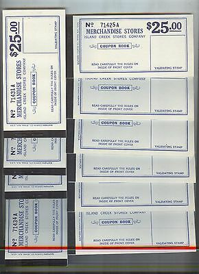10 piece lot, Earlington, Kentucky Island Creek Stores (Coal)  $25 coupon book