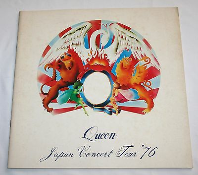 Queen Official Japan Tour Program 1976 Freddie Mercury Brian May Roger Taylor