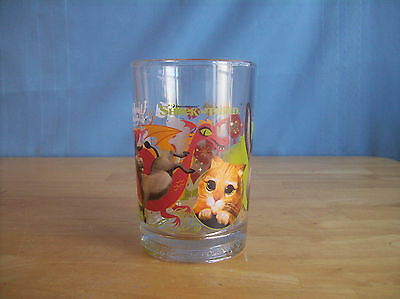McDonald's Shrek The Third We Love You Daddy Drinking Glass