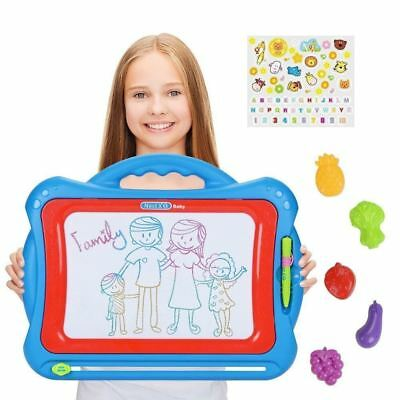 NextX Magnetic Drawing Board For Kids - Erasable Colorful Magna Doodle Toys NEW!