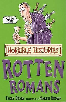 The Rotten Romans by Terry Deary (Paperback, 2007)-9780439944007-G055