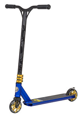 STAR-SCOOTER® Premium Freestyle Alum. Stuntscooter | 110mm Semi Pro | Matt Blue