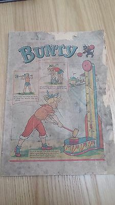 1958 Bunty comic. Delicate condition.