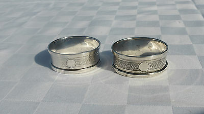 Vintage Sterling Silver Napkins Ring Birmingham 1930/31 Henry Griffith & Sons