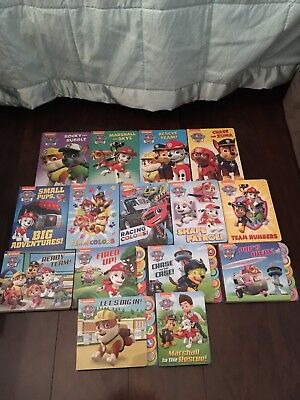 Huge Lot 15 Paw Patrol Board Books Like New