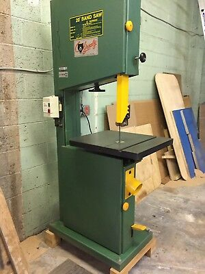 """GRIZZLY 20"""" Bandsaw 3HP 220 Single Phase"""