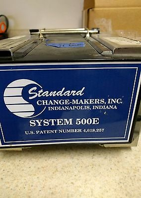 Standard Change Maker bill validator 500e NOT WORKING PARTS ONLY