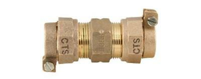 """Ford Fitting Brass Coupling 2"""" CTS x 2"""" CTS Pack Joint C44-77-NL FAST! B32"""