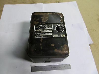 Vintage GENERAL ELECTRIC VACUUM TUBE TIME DELAY RELAY, 115 OR 230 VOLT.