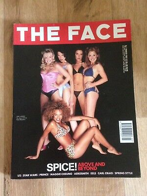 the face magazine 1997 spice Girls Cover