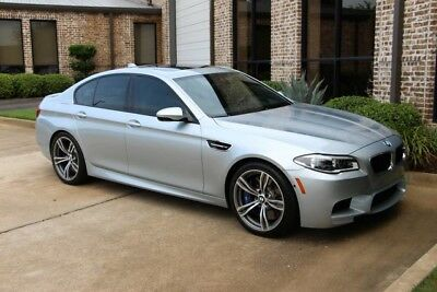 2014 BMW M5  ilverstone Executive Driving Assistance Plus Lighting Bang & Olufsen 20s More!