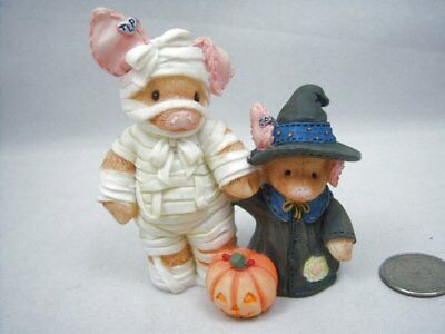 1995 Enesco This Little Piggy TLP You Are Such a Treat, Mummy Halloween Figurine