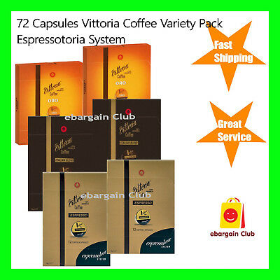 40 Capsules Cafe Royal Coffee Pod Variety Pack A Nespresso Compatible eBC