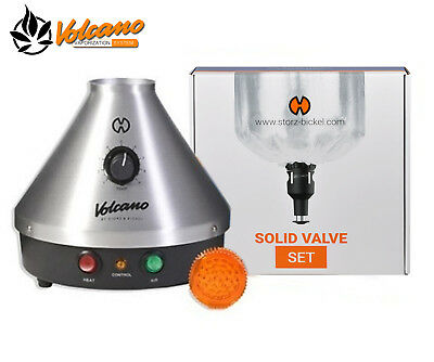 Volcano Classic with Solid Valve Vaporizer by Storz and Bickel