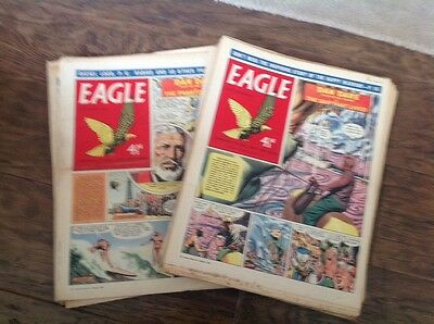 EAGLE COMICS, - 30 Of Them From 1958! Please Take A Look - Dan Dare