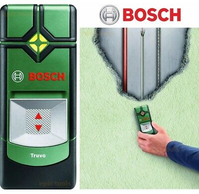 BOSCH TRUVO Multi Detector Copper Pipe Electrical Wire Cable Finder DAMAGED BOX!