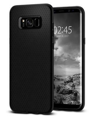 Coque Galaxy S8 Plus, Spigen® [Liquid Air] Premium Soft [Noir] Flexible Doux...