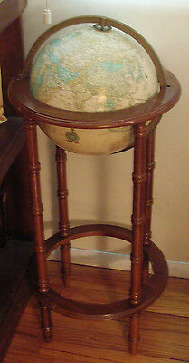 """Cram's 12"""" Imperial World Globe With Stand (Old Soviet Union & Divided Germany)"""