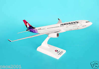 Skymarks Hawaiian Airlines Airbus A330-200 1/200 Scale Model Plane with Stand