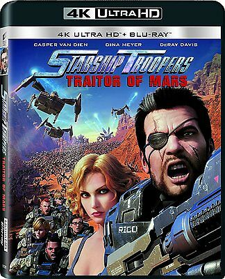 Starship Troopers: Traitor of Mars (4K Ultra HD)(UHD)(Atmos)