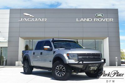 2014 Ford F-150 SVT Raptor Crew Cab Pickup 4-Door Custom Bumper with Winch Navigation Rear Camera Graphics Package