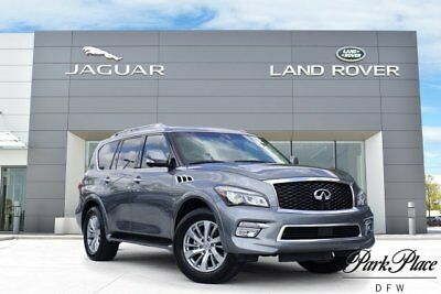 2016 Infiniti QX80 Base Sport Utility 4-Door urround View Camera Navigation Moonroof 20 inch Wheels