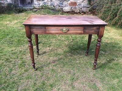 Edwardian Antique  Desk or Hall Table