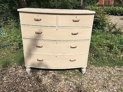 Victorian Chest of Drawers, painted in Anni Sloan Grey