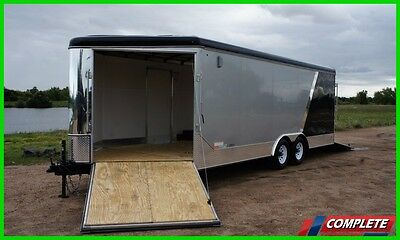 SALE 8.5 X 27 Enclosed Carhauler Snowmobile ATV/UTV Combo Trailer
