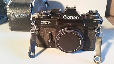 CANON EF BLACK BODY 35mm Metal Camera 337301