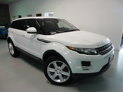 2015 Land Rover Evoque Pure Sport Utility 4-Door CERTIFIED Climate Comfort Pack Convenience Pack Satellite Radio