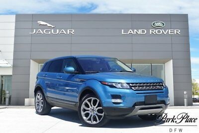2014 Land Rover Evoque Pure Sport Utility 4-Door CERTIFIED Climate Comfort Package Navigation Pure Plus Satellite and HD Radio