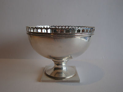 Antique J.E. Caldwell & Co. Sterling Silver Footed Console Bowl, 19th Century